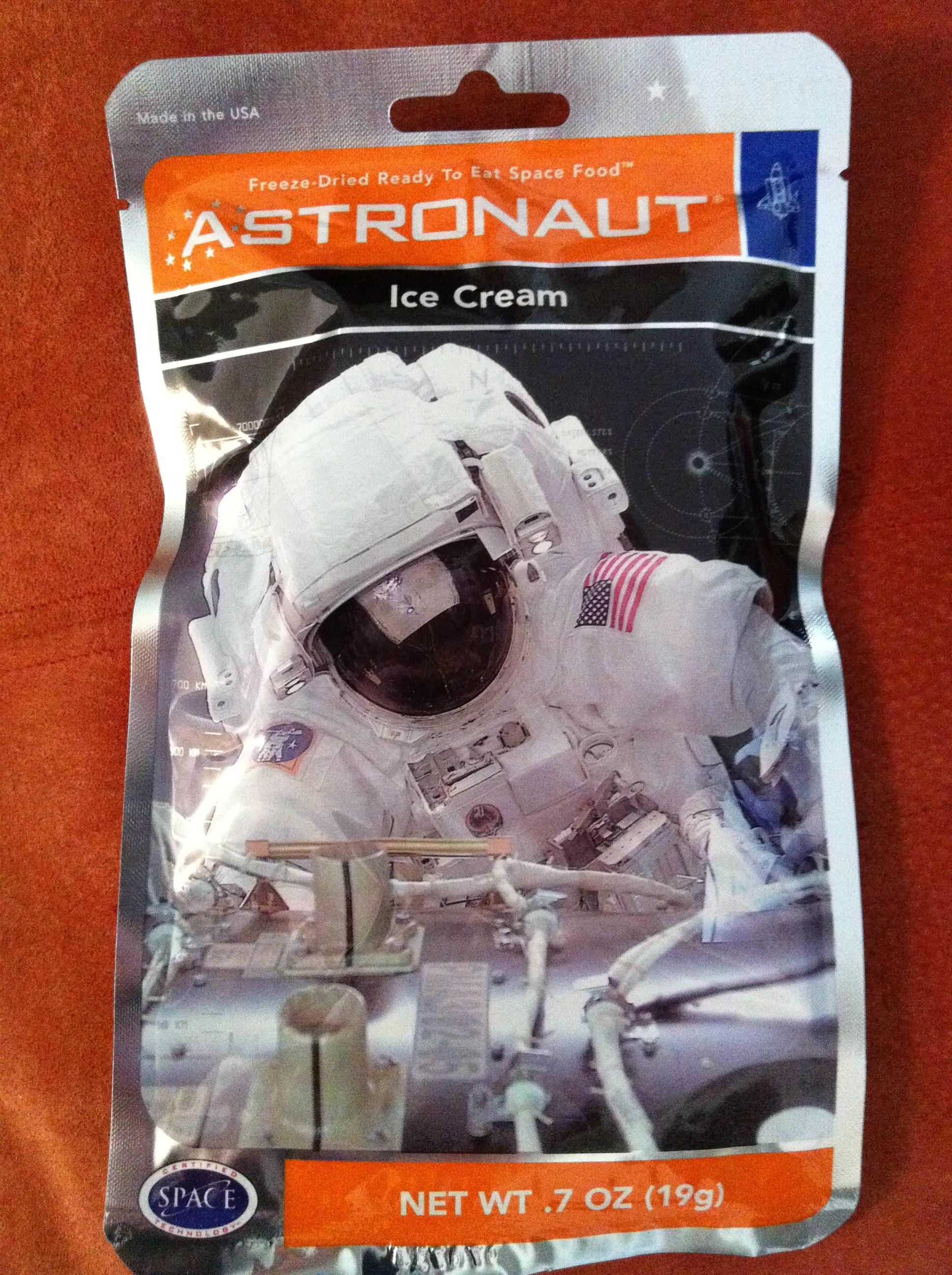 walmart astronaut ice cream - photo #16