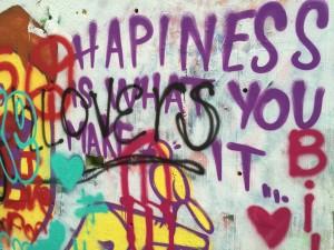 Happiness Graffit